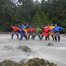 Jericho Beach Kayak Team